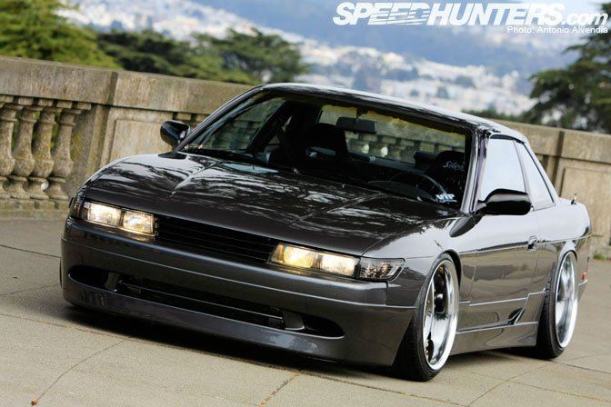 I've always had a soft spot for the S13 Silvia and would just like to share a pic