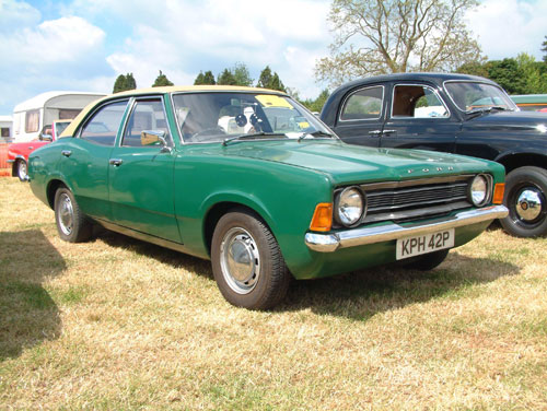 Ford originally wanted to call the Mk III something other than Cortina, but the name Cortina stuck.
